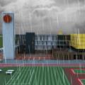 密室逃脱雨季的学校